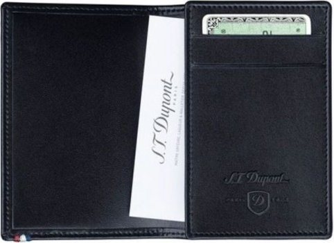 Line D Visit Card Holder – Black Elysée