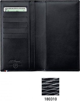 S.T. Dupont Line D Pocket Diary Cover – Black Contraste 180310