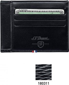 Line D Identity Paper Holder With Space For Credit Cards – Black Contraste